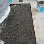 Aanhelen natuursteen vloer